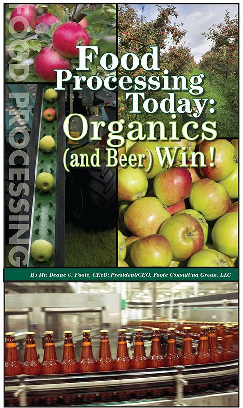 Food Processing Today: Organics (and Beer) Win!