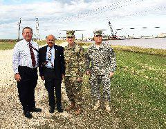 USACE Brigadier. General David C. Hill Visits Port Freeport