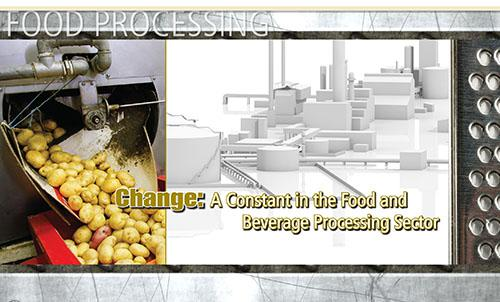 Change: A Constant in the Food and Beverage Processing Sector